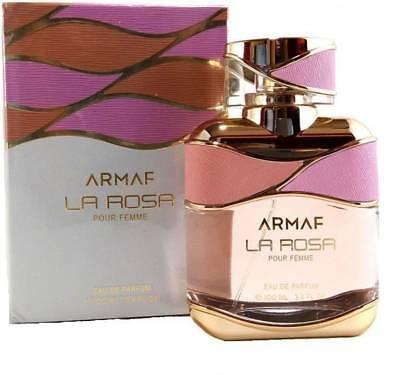 Armaf LA ROSA POUR FEMME Eau de Parfum - 100 ml (For Women) Free Shipping.