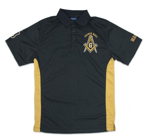 Prince Hall Mason Masonic Polo- Size 4XL-New!