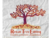 Rowan Tree Editing: Professional editing made easy. Novels, Short Stories, PhD Theses and CVs