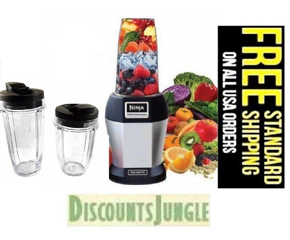 Nutri Ninja BL456 900W Professional Blender & 2 Cups 18 & 24