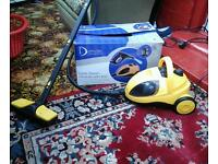 Steam cleaner for carpets walls and flooring