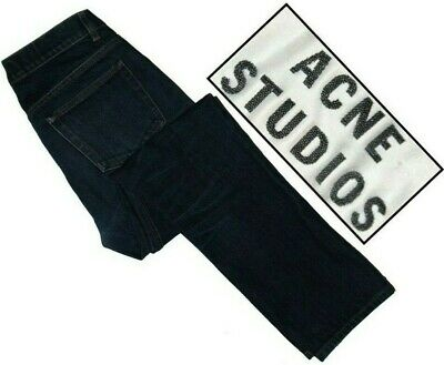 ACNE STUDIOS Roc Raw 32 blue jeans (32 x 28)