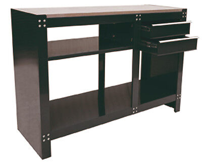 HILKA WORK BENCH WORKSHOP GARAGE 2 DRAWER TOOL STORAGE DESK