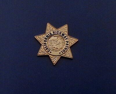 California Highway Patrol CHP Mini Badge Lapel Pin CA police