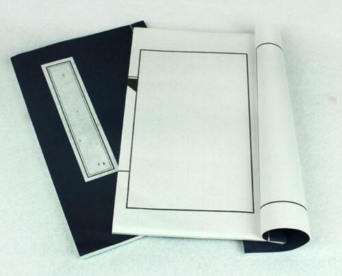 1pc Handbound Chinese Stab Binding Books Rice Paper Xuan 印谱 26CMX16CM