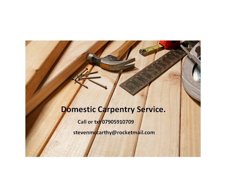 Domestic Carpentry Service. Downend.