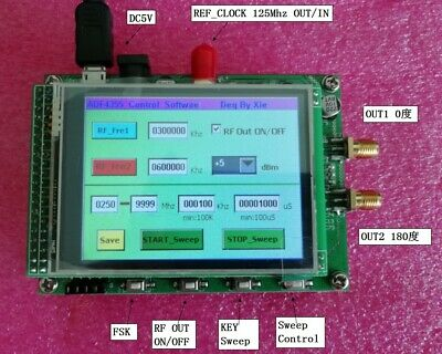 New Adf4355 250mhz-6.8g Sweep Rf Signal Generator Vco Microwave Frequency