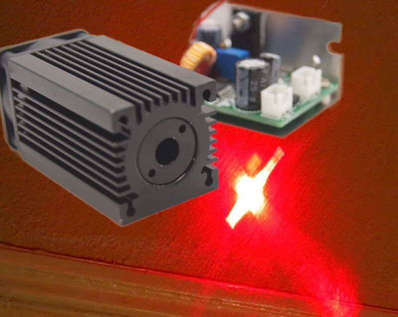 638nm 500mW Dot Red Laser Module/TTL