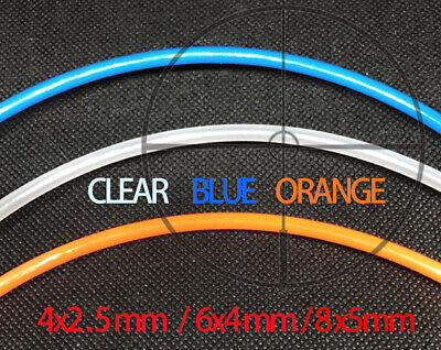 Od 4mm 6mm 8mm Pu Air Pneumatic Pipe Tube Hose Air Clearblueorange