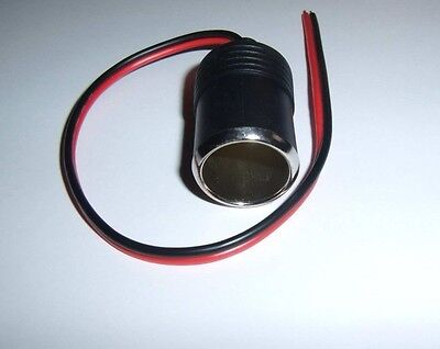 Metra Install Bay CIGF Female Cigarette Cig Lighter Plug 12 Volt Adapter Car New