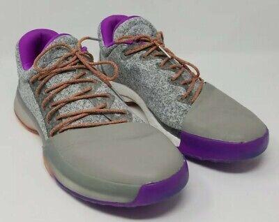 adidas Harden Vol. 1 BW0549 All-Star No Breaks Grey Orange Purple - Size 11.5