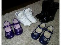 Girls shoes size 8&9