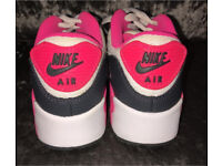Girls Nike Air Trainers Size 12