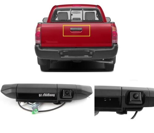 For Toyota Tacoma 2005-2014 Tailgate Handle Rear View Reverse Backup Camera