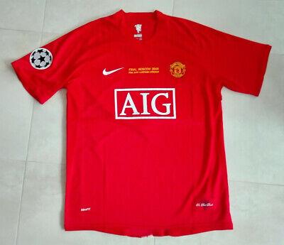 Camiseta Fútbol MANCHESTER UNITED Campeón Europa 07/08 #7-RONALDO