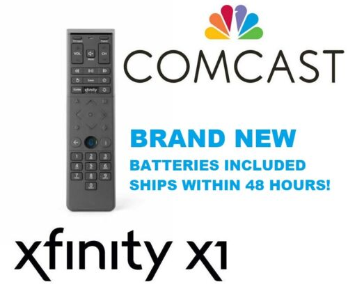 Xfinity Comcast XR15 X1 Voice Remote Control w/ Batteries and Manual NEW