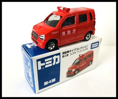 TOMICA AEON SUZUKI WAGON R RR FIRE CHIEF CAR 1/56 TOMY NEW 71 for sale  Shipping to United States