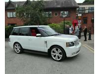 Wedding hire Range Rover Bridesmaids/Groomsmen/Bride 07928651085