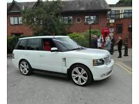 Wedding hire Range Rover at reasonable prices £170 2 HOUR HIRE.