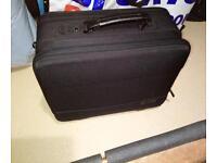 Laptop & briefcase