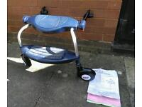 Litaf seat2go hitch hiker buggy seat and buggy board