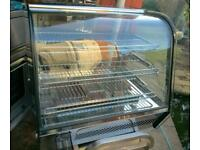 Commercial electric Hot display, food warmer, pie,chicken, peri peri cabinet.