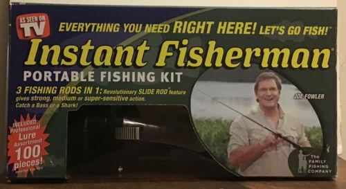 Instant Fisherman - Portable Fishing Kit - As Seen on TV!