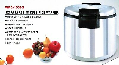 Smart Chef - 88 Cup Stainless Steel Commercial Rice Warmer Etlnsf Listed New