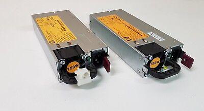 2 x 750W Server HP Netzteile für G7 DL380 - DL360