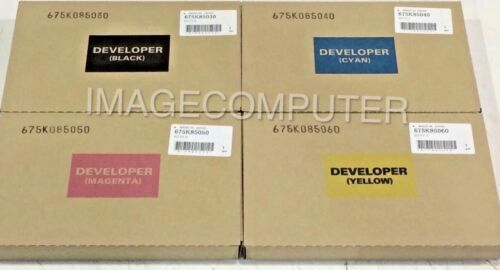 New GENUINE XEROX Phaser 7800  Developer bundle CMYB  Expedited shipping