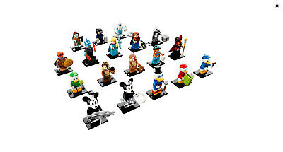 Lego Disney Series 2 Complete Set of 18 Minifigures 71024 (SEALED)