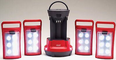 - Coleman Quad(TM) LED Lantern New Present Gift Great for Camping Sale