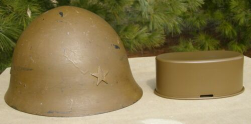 Imperial Japanese WWII Helmet SPRAY PAINT (HELMET IS NOT FOR SALE!!!)