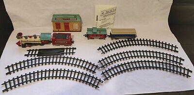 Bright Vintage Village Express Christmas Train Set MISSING PARTS-SEE DESCRIPTION