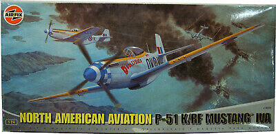 1/24 Airfix North American Aviation P-51 K/RF Mustang IVA A14003