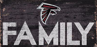 Atlanta Falcons FAMILY Football Wood Sign - NEW 12