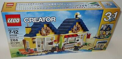 LEGO CREATOR 31035 Beach Hut 3IN1 series HOUSE FREE SHIPPING new sealed box