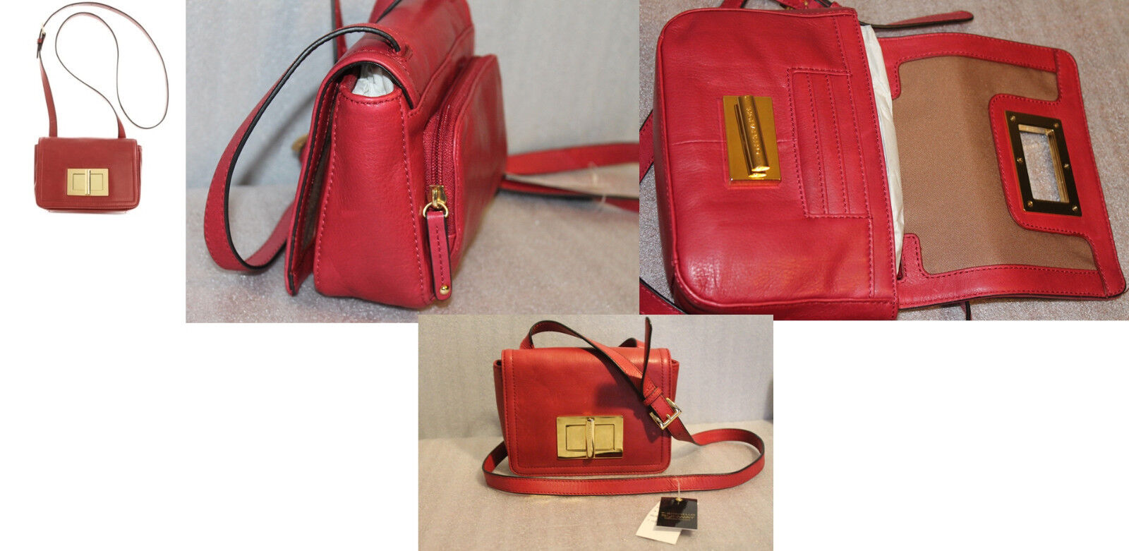 Tignanello Women's Crossbody Bag Runway Collection Uptown Le