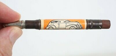 1930s Thrifty Sixty Ford Bullet Pencil Advertising Johnson Motor Co. Green Bay