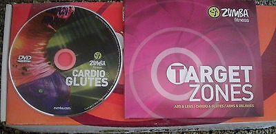 Zumba Fitness Target Zone Cardio & Glutes Never Used (Zumba Fitness Cardio)