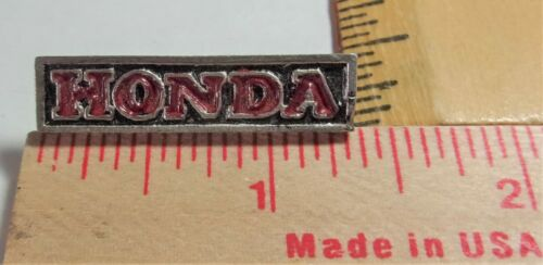 vintage Honda pin collectible old Japanese motorcycle pinback biker memorabilia
