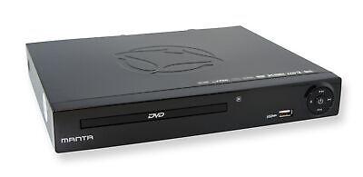 Manta DVD Player DVD072  (DivX, HDMI, USB 2.0) schwarz