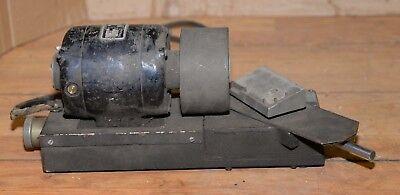 Vintage Drill Grinder Sharpener Bodine Electric Motor Machine Shop Lathe Tool