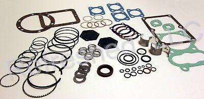 Quincy 325 Tune Up Kit - Gaskets Rings Valves Seals Air Compressor Parts Roc 6-8