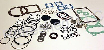 Quincy 5120 Tune Up Kit Gaskets Rings Valves Seals Air Compressor Parts Roc2-up