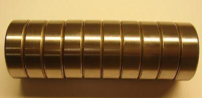 10 Pcs Nsk 6203z Deep Groove Ball Bearing Single Row Double Shielded