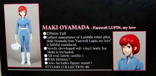 NEW Stylish Collection Lupin the 3rd Oyamada Maki Figure Medicom USA SELLER