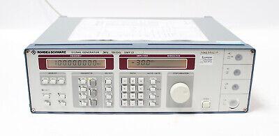 Rohde Schwarz Smy 01 Signal Generator 9khz - 1.040ghz 1062.5502.11 New