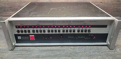 Edc Electronic Device Corporation Model 501j Programable Dc Voltage Standard.