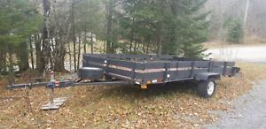 12ft by 7ft utility trailer  Good condition